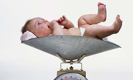Таблица роста и веса ребенка до года