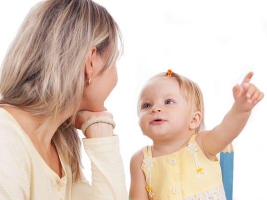 Когда ребенок начинает говорить первые слова