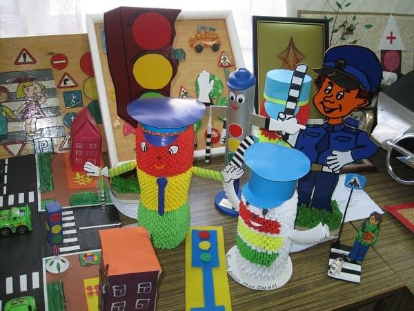 Поделки на тему ПДД для детского сада своими руками