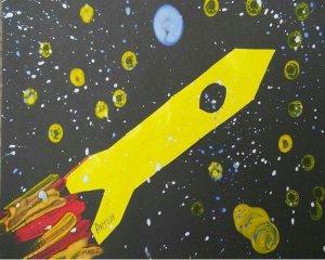 Поделки к дню космонавтики своими руками для детского сада