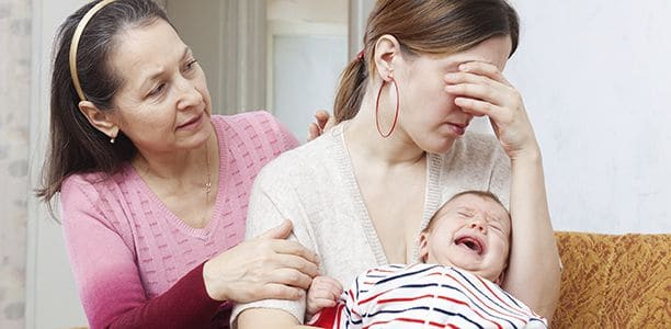 как справится с послеродовой депрессией
