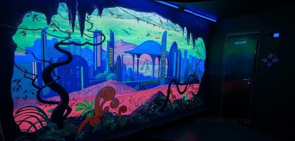 Флуоресцентные (светящиеся) краски