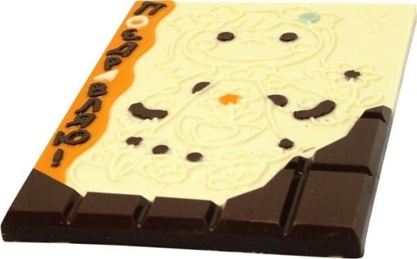 Шоколадная раскраска
