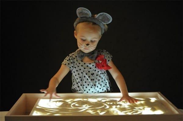 Столик для рисования песком