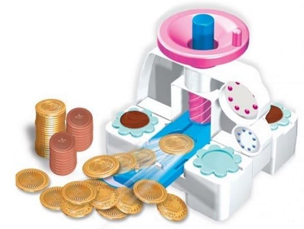 Печатный станок шоколадных монеток
