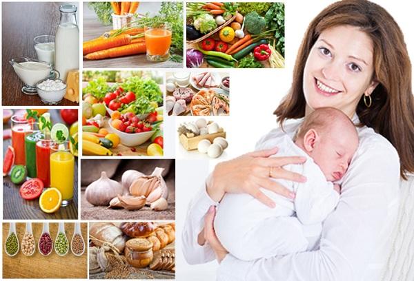 Диета при грудном вскармливании: особенности питания кормящей мамы