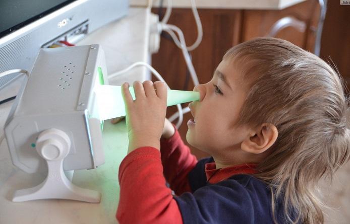 Заложен нос у ребенка соплей нет комаровский
